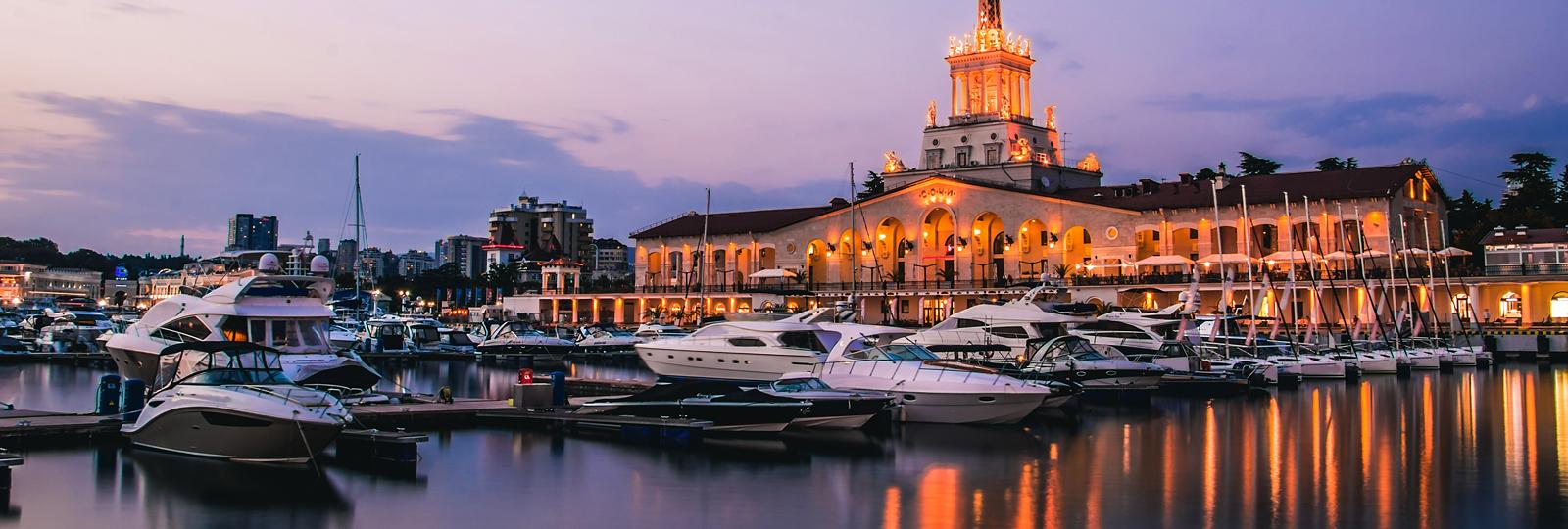 Новинки от туроператора на черноморском побережье: Сочи, Абхазия