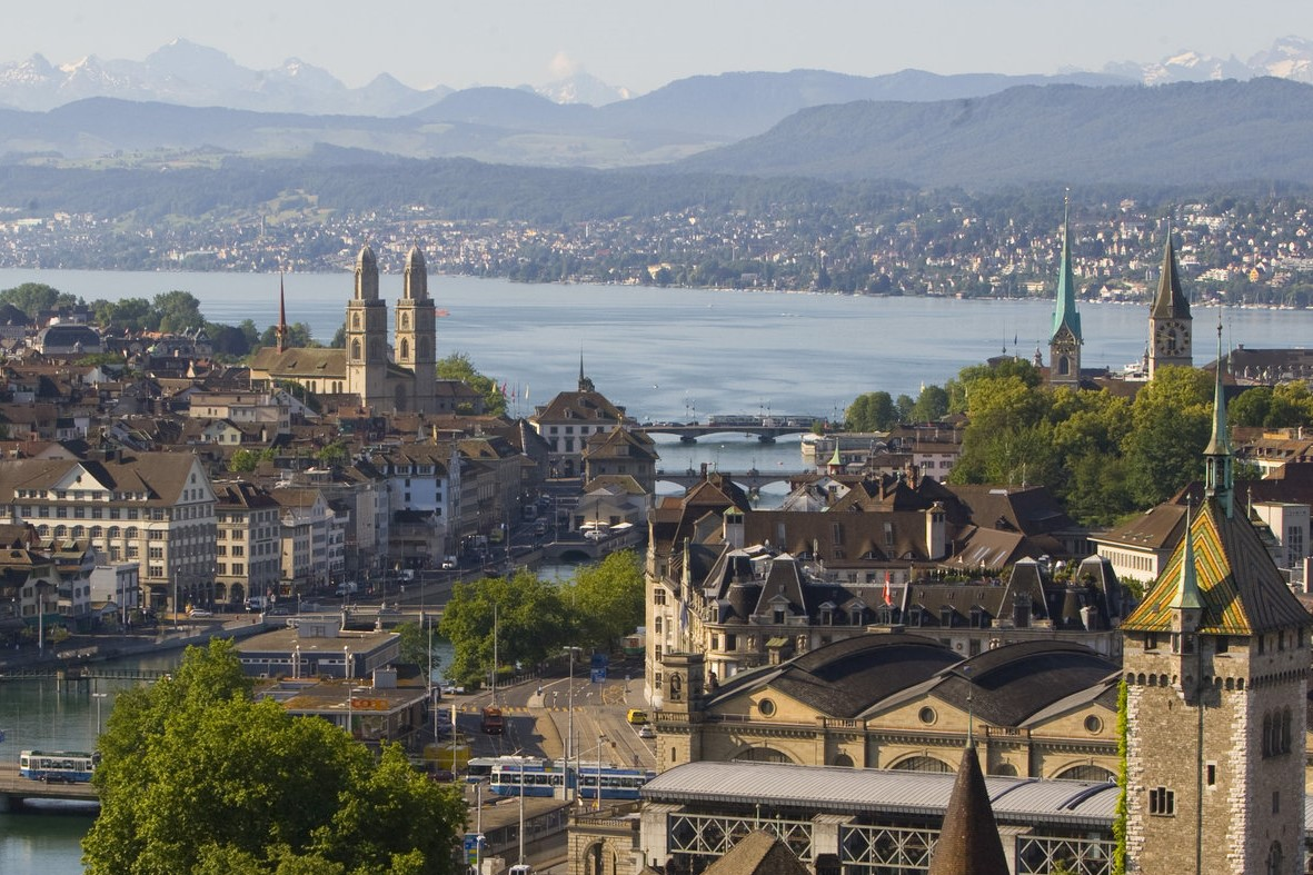 Старый город - Швейцария