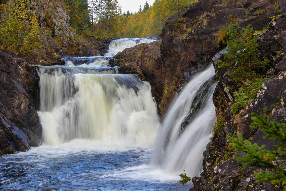 Водопады Кивач
