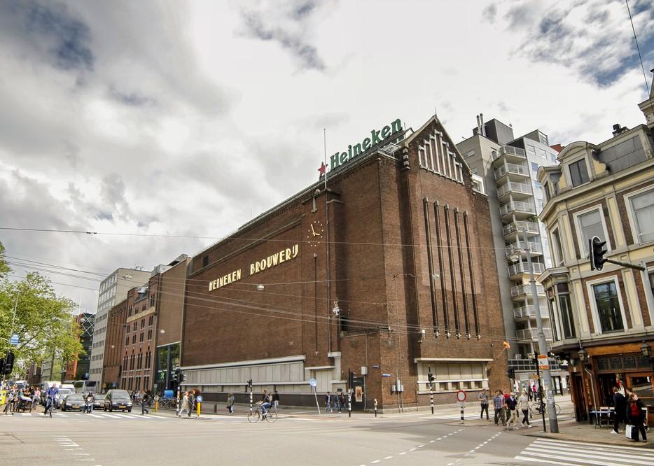 Пивоварня Heineken и дом ликеров Bols