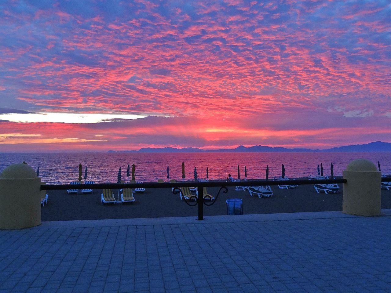 Прекрасный Родос, 2 моря! Греция!