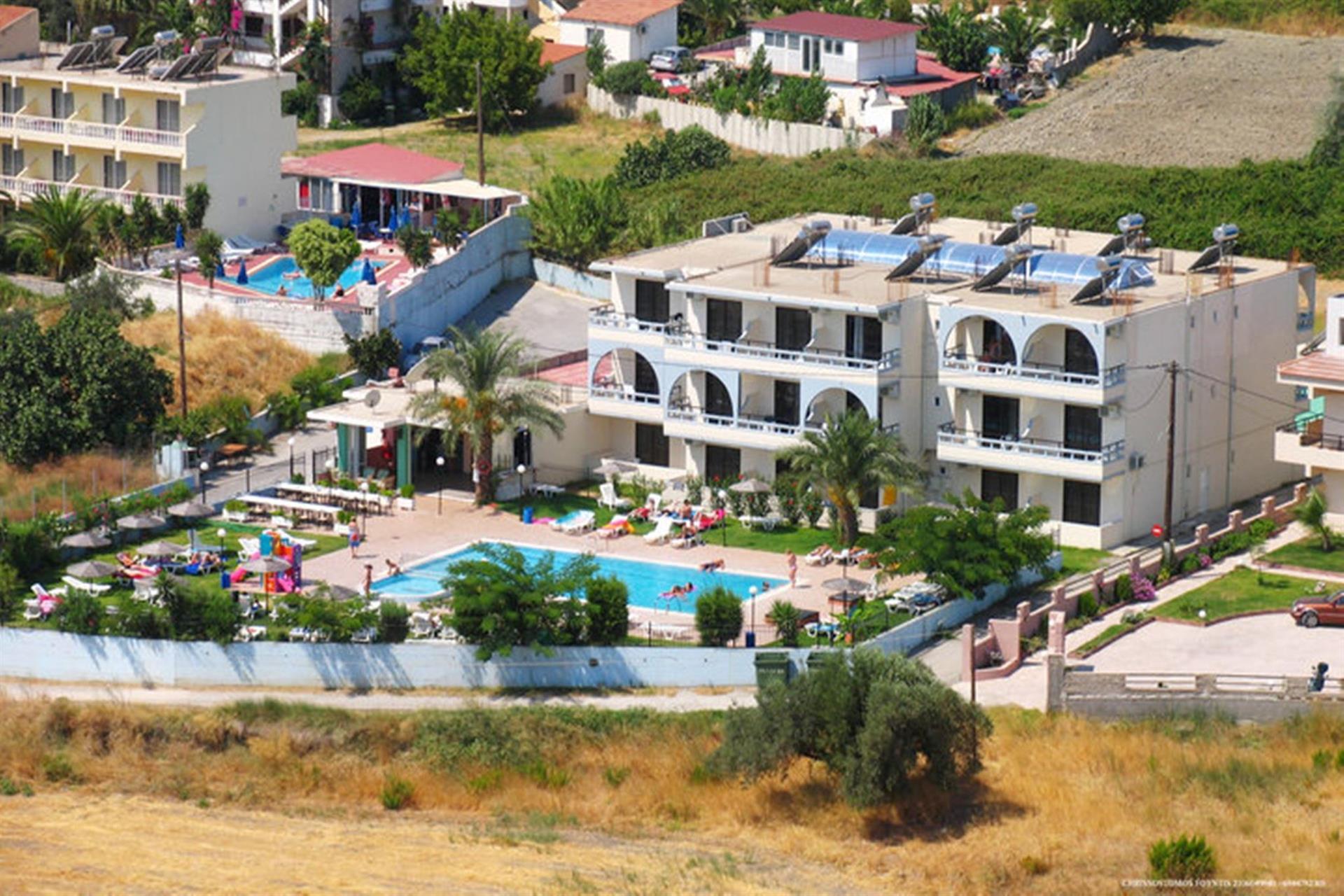 Hotels in Faliraki, Greece: review, description and tourist reviews