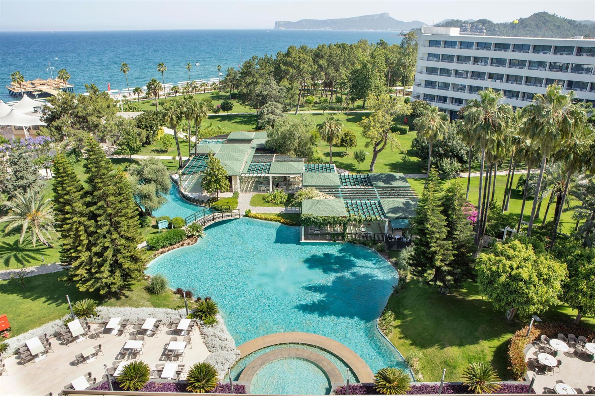 Качественный отдых в Турции в отеле MIRAGE PARK RESORT !!!