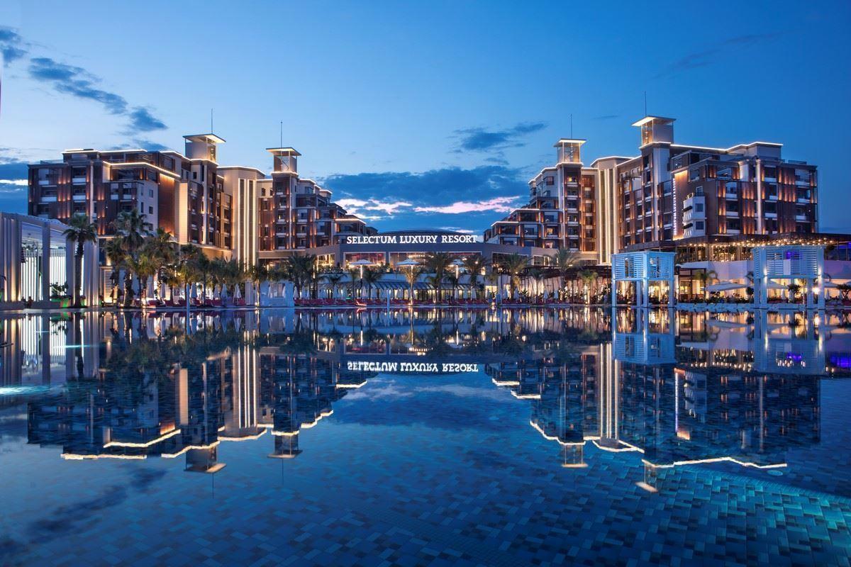 Selectum luxury resort belek for Designer hotels turkei